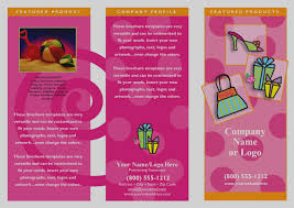 Sample Preschool Brochure Awesome Of Sample Brochures Templates One Page Brochure Template The 21