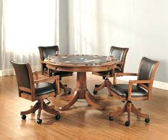 tall dinette sets full size of kitchen chairs set 4 wooden with casters medium