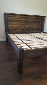 Diy king size beds Hidden Compartment Lit Plateforme Cadre De Lit Lit Plateforme Poste Quatre Diy Queen Bed Pinterest 80 Diy King Size Platform Bed Frame Diy Diy Bed Frame Diy