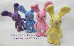 Free Crochet Bunny Pattern Enchanting Little Bigfoot Bunny 48 With Video Tutorial Amigurumi To Go