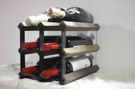 Custom Made Countertop Wine Rack