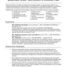 Sample Resume For Registered Nurse With Experience Inspirationa ...