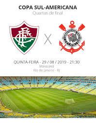 Fluminense x Corinthians: tudo o que você precisa saber sobre a volta das  quartas da Sul-Americana | copa sul-americana