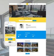 80+ Best Real Estate Website Templates Free & Premium - freshDesignweb