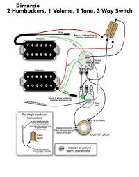 guitar wiring diagram 2 humbucker 1 volume guitar dimarzio pickup wiring diagram dimarzio wiring diagrams on guitar wiring diagram 2 humbucker 1 volume humbuckers 3 way lever switch