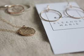 Hand crafted minimalistic jewelry for women – Eleanor Marie Jewelry