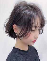 韓国風なボブtu 405 ヘアカタログ髪型ヘアスタイルafloat