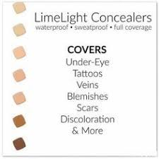 Limelight By Alcone Concealer Chart Waterproof Complete Concealer Fitness Beauty Travel