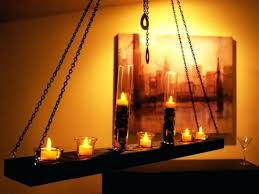 medium size of home improvement wood candle chandelier parrotuncle antique wooden metal chain hanging holder by