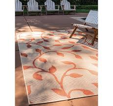 9 x 12 outdoor botanical rug