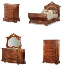 cortina bedroom set. cortina sleigh bedroom set, 5-piece queen traditional-bedroom-furniture set o