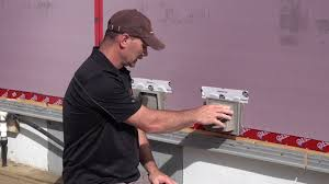How To Mount Lights On Vinyl Siding How To Install Vinyl Siding Accessory Mounting Blocks