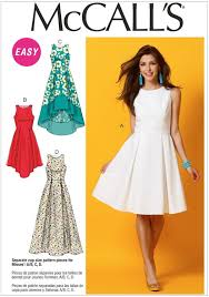 It's Sew Easy Patterns Inspiration Misses Dresses McCalls Pattern 48 Sew Essential