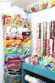 gift bag storage and organization