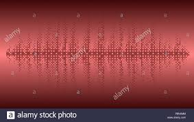 Vector Background Music Wave Balance Chart Circles Burgundy