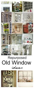 Add some creative charm in your home with an old window! Here are some  Repurposed