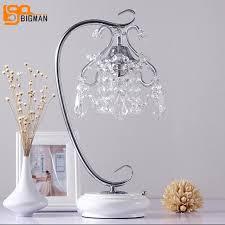Marvelous New Beautiful Crystal Lamp Table Light Modern Crystal Table Lamps For  Bedroom