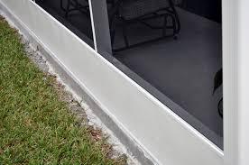 aluminum kickplate with hidden fastener system aluminum screen porch framing system i0