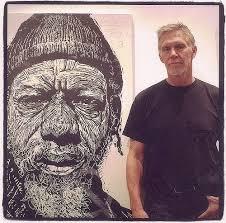Neil Shigley IV   Artist studio, Woodcuts prints, Lino print