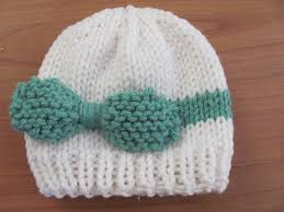 Knit Baby Hat Pattern Circular Needles Impressive Twenty Something Granny Knitted Baby Bow Hat