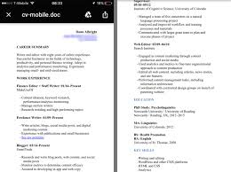 Resume Formatting Tips Enchanting 28 Resume Formatting Tips To Make Your CV Mobile Friendly