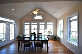 sloped ceiling lighting fixtures. Angled Ceiling Lights Elegant Dining Room With Recessed And Lighted Fan Vaulted Can Sloped Lighting Fixtures