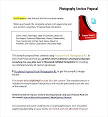 Proposal Letter For Photo Service New License Agreement Template Of