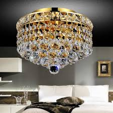 living gorgeous mini flush mount chandelier 31 0001553 10 primo transitional small round crystal ceiling gold