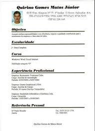 Curriculo Pronto Para Preencher 12 Curriculo Para Preencher Pdf Cover Letter