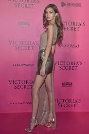 Gigi Hadid in Versace Red Carpet Victoria s Secret Fashion Show.