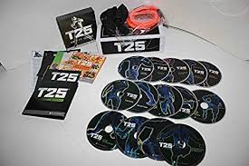 pp shaun t s focus t25 deluxe kit dvd workout 14dvd