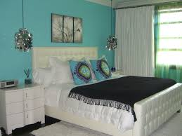 White And Turquoise Bedroom Turquoise Color For Bedroom These Turquoise Walls Are The Perfect