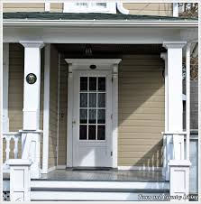 farmhouse style front doorsFlirtatious Front Doors  Town  Country Living