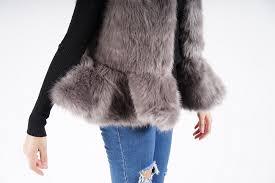 lady s fake fur coat winter short coat soft and fluffy fur coat jacket lady s fur coat lady s fur best lady s no collar fur coat ぺ plum select select