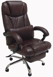 office recliner chairs. leather reclining office chair w footrest recliner chairs