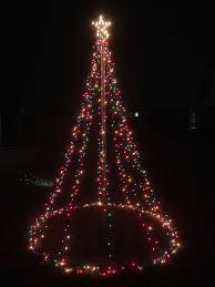 christmas lighting decoration. Introduction: 10 Ft Outdoor Christmas Light Tree Decoration Lighting R