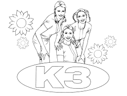 K3 Kleurplaat 44 By Tomytje On Deviantart
