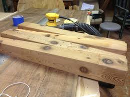 picture of making the table legs
