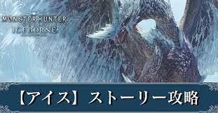 モンスターハンター ワールド アイス ボーン ストーリー
