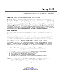 100 Electronic Technician Resume Examples Enchanting Whats