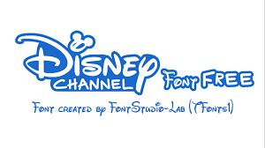 Disney Font Disney Channel Font Designed By Fontstudio Lab