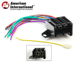 early gm car stereo cd player wiring harness wire aftermarket radio links