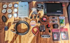 epic guide to diy van build electrical how to install a campervan all the electrical components for our van build
