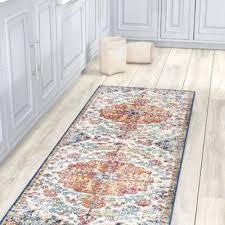 rug on carpet in hallway. Fine Hallway Hillsby Saffron Area Rug On Carpet In Hallway