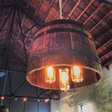 creative wine barrel lights ideas 1