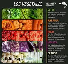 El Arcoiris Vegetal Fisioterapia Online Cuales Son Los Colores Vegetales L