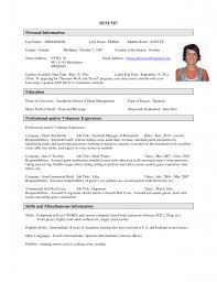 87 Sample Resumes For College Student And Graduate 64