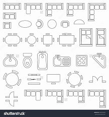 floor plan symbols. 50 Unique Floor Plan Symbols O