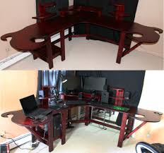 ... Medium SizeFunky Gaming Computer Desk By Mariowned Dlybn Thumbnail Size  Funky ...