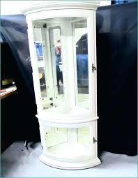 white curio cabinet white corner display unit curio cabinets with glass doors outstanding white corner cabinet